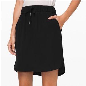 NWT Lululemon Athletica On the Fly Skirt